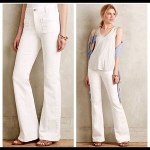 Anthropologie pilcro flare jeans